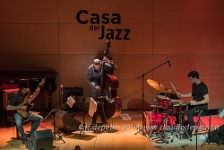 Jacopo Ferrazza Trio, Casa del Jazz 14/3/2019
