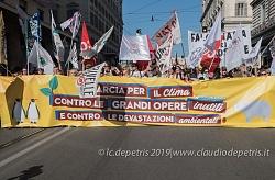 Roma 23/3/2019 manifestazione per il clima