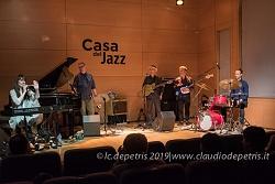 Roma 10/5/2019  Elizabeth Shepherd 5th alla cCaa del Jazz