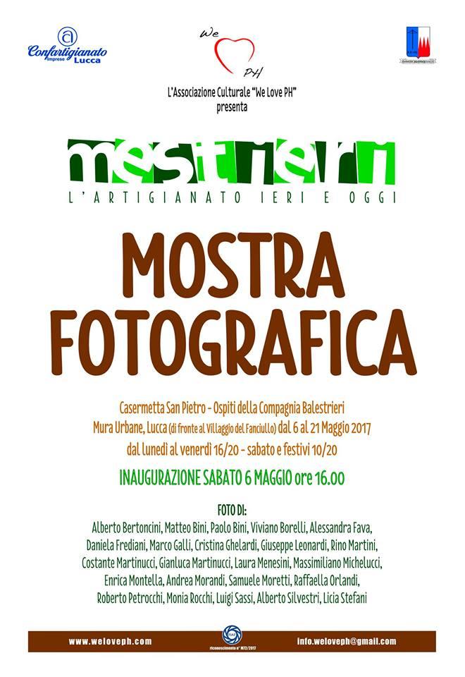 """Mostra """"MESTIERI - L' ARTIGIANATO IERI E OGGI""""    2017"""