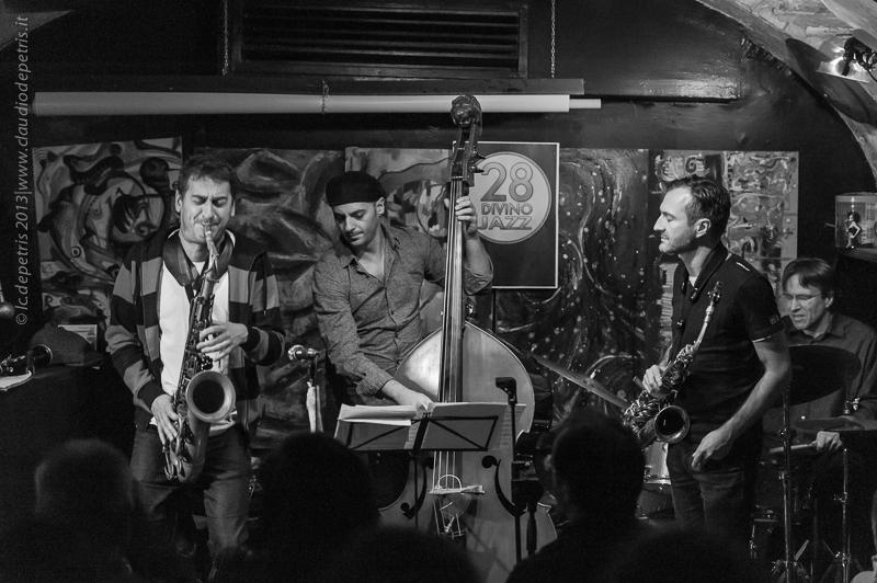 """mo'avast band live"" roma 28DiVino jazz club 9/11/2013"