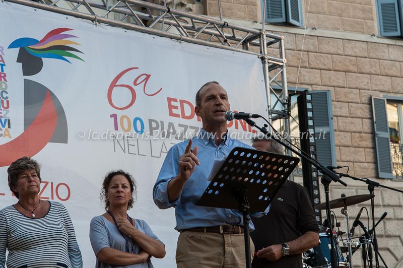 manifestazione cgil piazza farnese 13/9/2014
