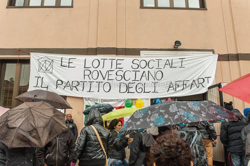 Occupy sede PD Garbatella 5/12/2014