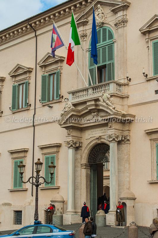 Napolitano lascia il Quirinale 14/1/2015