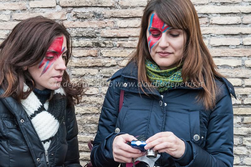 Flash mob in memoria di David Bowie, 16/1/2016