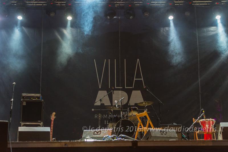 """Bombino a """"Villa Ada Incontra il Mondo 2016"""", 3 luglio 2016"""