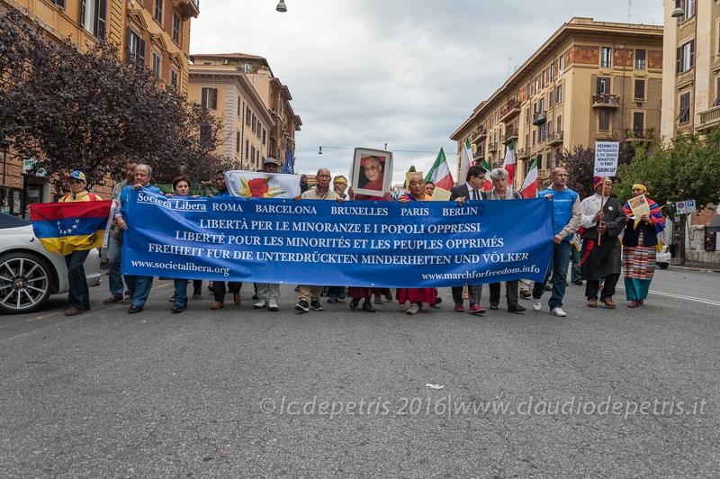 Marcia internazionale per una società aperta, 8/10/2016