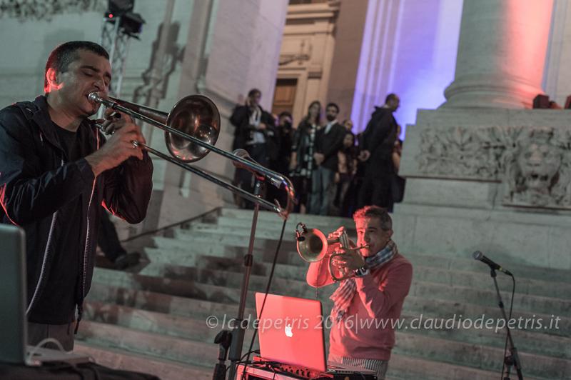 Paolo Fresu-Gianluca Petrella in concerto, 10/10/2016