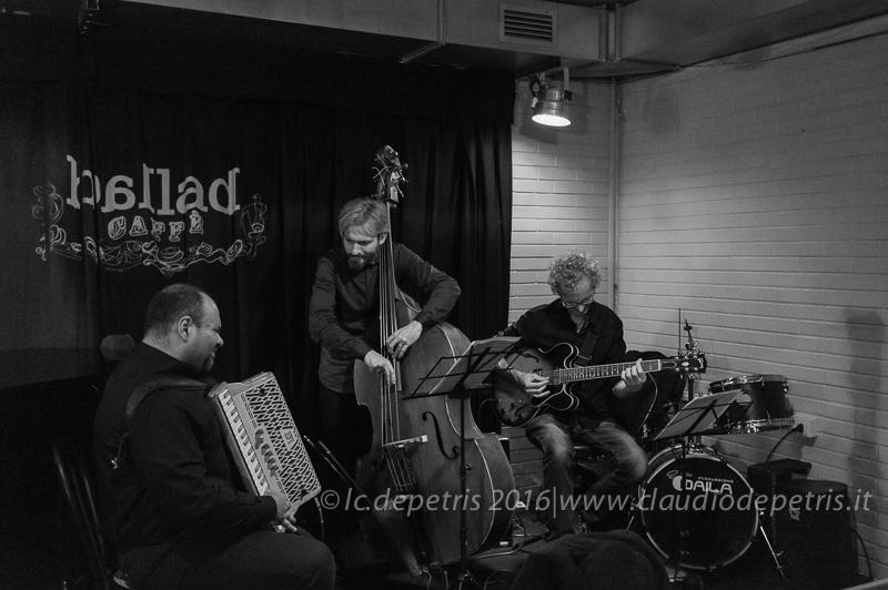 Natalino Marchetti Trio al Ballad Caffè 24/11/2016