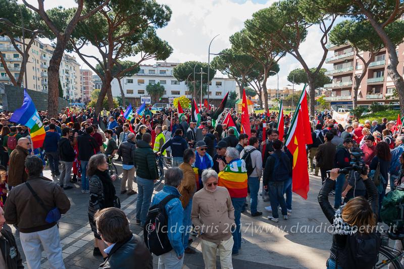 Roma: L'ANPI ricorda l'anniversario della Liberazione, 25/4/2017