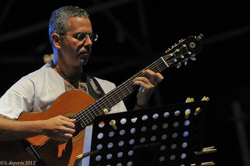 """roberto taufic - stefania tallini piano, roberto taufic chitarra """" intimate brasil"""" casa del jazz 3/8/2011.Guest Maria Pia De Vito"""