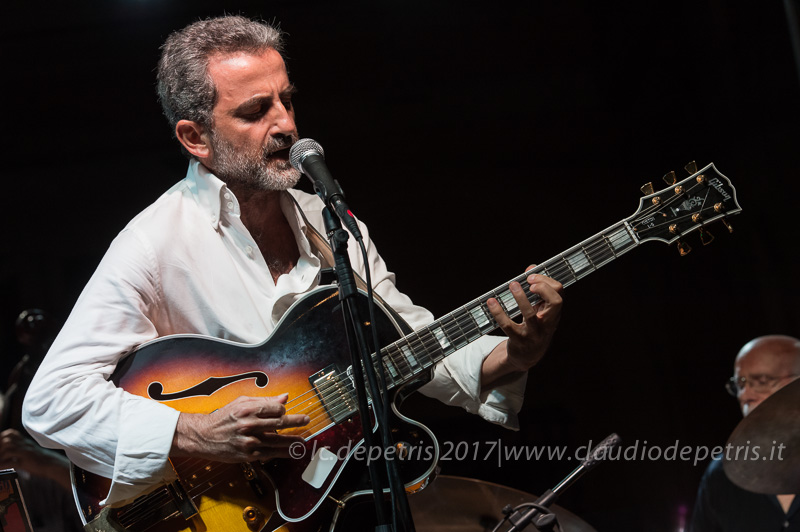 Nicola Mingo in concerto a Villa Celimontana, 10/8/2017