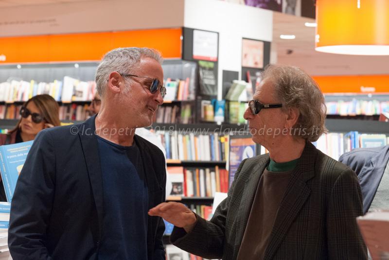 Fabrizio Sferra (S) e Bruno Tommaso