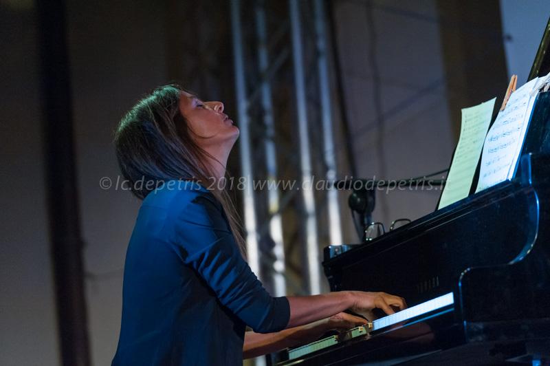 Elisabetta Serio a Diva's Jazz Festival, 28/8/2018