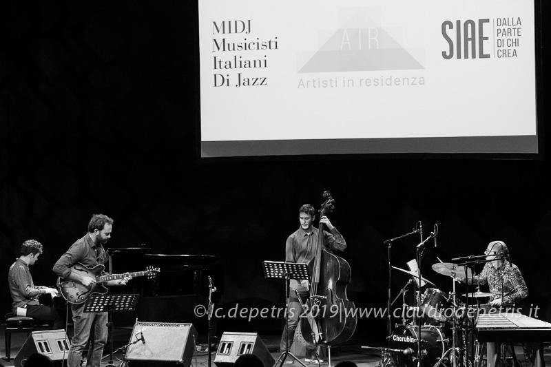 Francesco Fiorenzani chitarra, Enrico Zanisi, Simone Di Benedetto, Federico Scettri