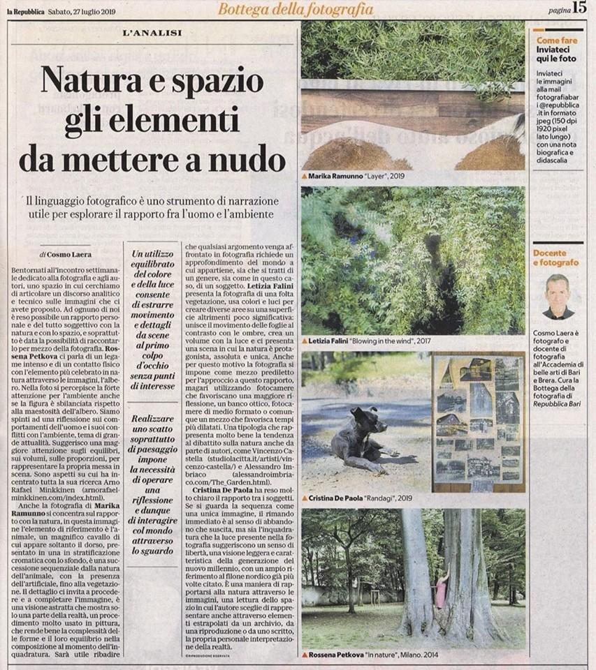 La Repubblica_Marika_Ramunno - La Repubblica