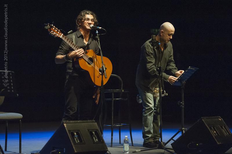 marcio rangel-flavio boltro  - marcio rangel chitarra, flavio boltro tromba auditorium parco della musica, teatro studio 11/12/2012
