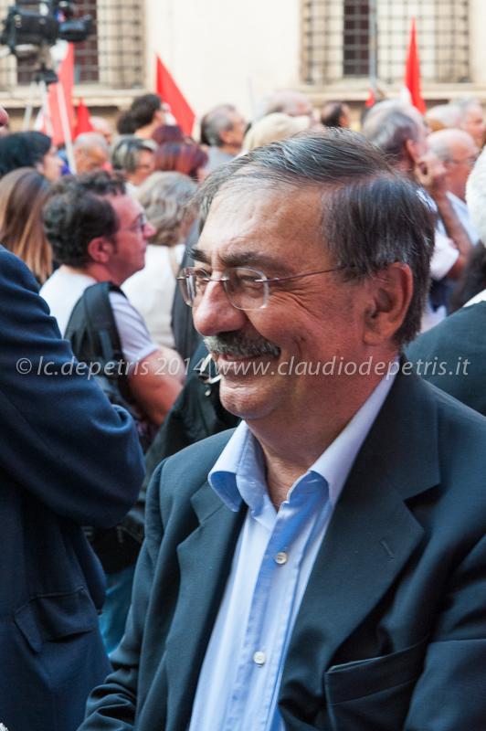 manifestazione sinistra ecologia e libertà piazza s.s. apostoli 4/10/2014