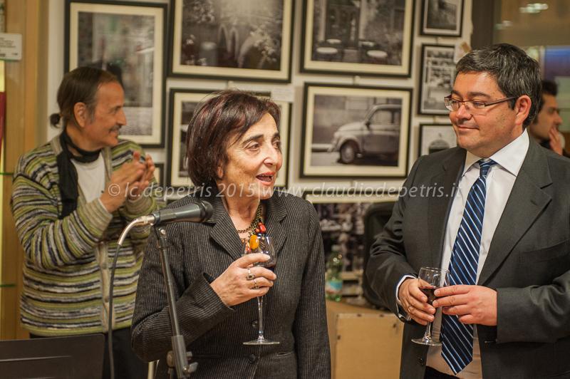 jacqueline zana-victor e jerome coumet sindaco del 13° arrondissement di parigi gemellato col 1° municipio di roma