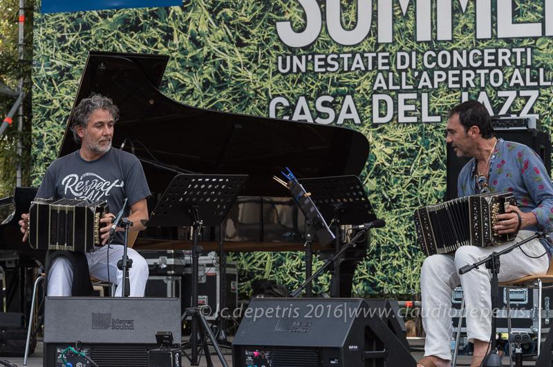 Paolo Russo (S) e Daniele Di Bonaventura