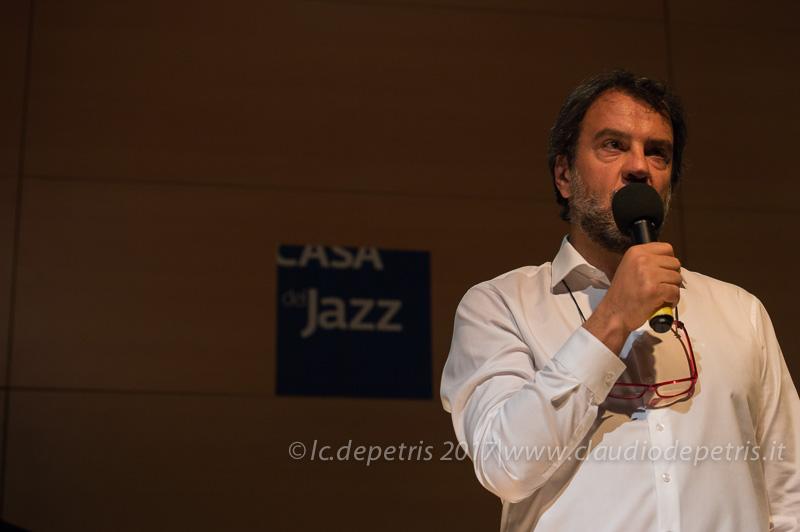 Luciano Linzi coordinatore Casa del Jazz