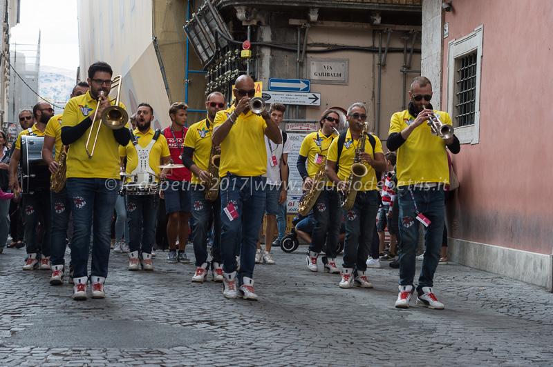 L'Aquila 3/9/2017, Empoli Jazz Festival-Large Street Band