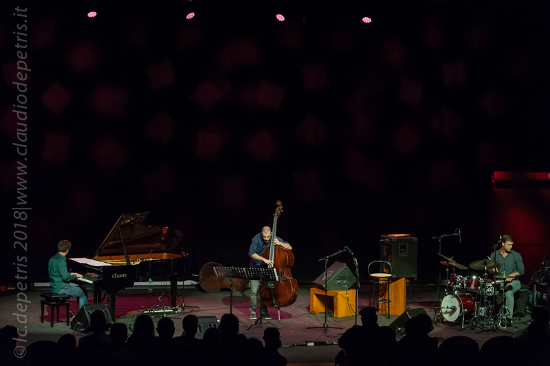 Jacopo Ferrazza Trio, Auditorium 19/9/2018