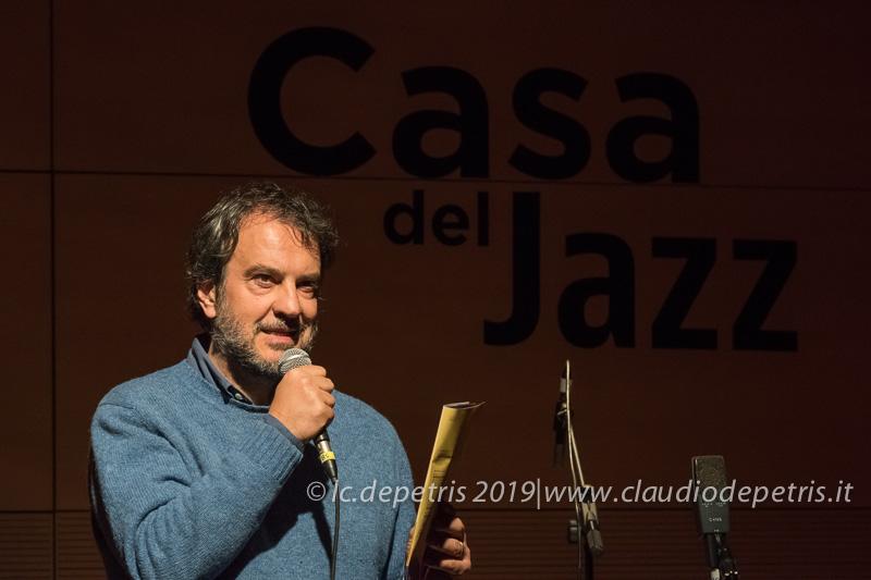 Luciano Linzi Dir. Artistico Casa del Jazz